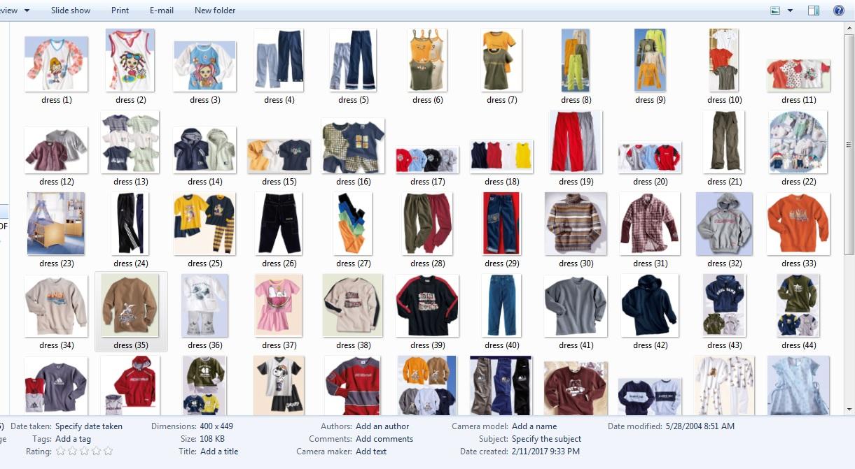 dress-information